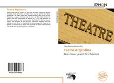 Capa do livro de Teatro Argentina