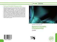 Portada del libro de National Scrabble Championship