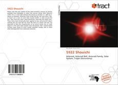 5922 Shouichi kitap kapağı