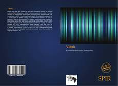 Bookcover of Vinnö