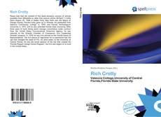 Buchcover von Rich Crotty