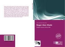 Buchcover von Roger Alan Wade