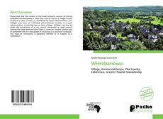 Bookcover of Wierzbanowa
