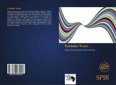 Copertina di Pendular Water