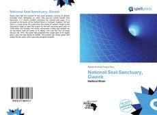 Buchcover von National Seal Sanctuary, Gweek
