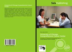 Bookcover of University of Chicago Comprehensive Cancer Center