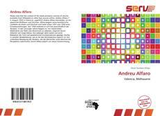 Andreu Alfaro的封面