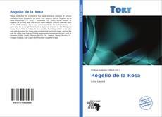 Capa do livro de Rogelio de la Rosa