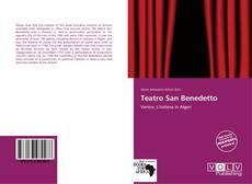 Buchcover von Teatro San Benedetto