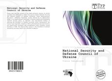 Buchcover von National Security and Defense Council of Ukraine