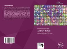 Bookcover of Andrew Birkin