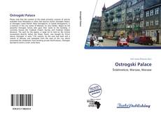 Bookcover of Ostrogski Palace