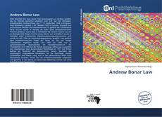 Bookcover of Andrew Bonar Law
