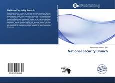 Buchcover von National Security Branch