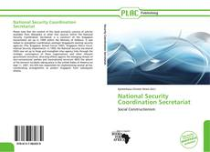 Portada del libro de National Security Coordination Secretariat