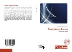 Обложка Roger Aaron Brown