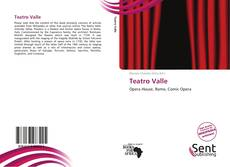 Teatro Valle的封面