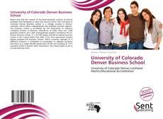 University of Colorado Denver Business School的封面