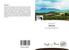 Bookcover of Ostroh