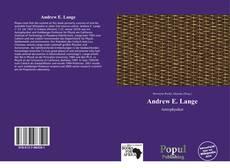 Bookcover of Andrew E. Lange