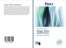 Bookcover of Roger Allen (politician)