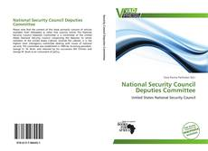 Bookcover of National Security Council Deputies Committee