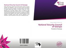 Bookcover of National Security Council of Georgia