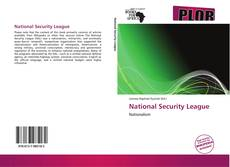 National Security League kitap kapağı