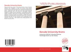 Couverture de Danube University Krems