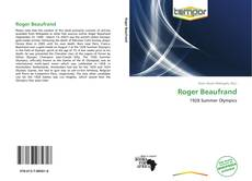 Bookcover of Roger Beaufrand