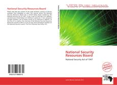 Couverture de National Security Resources Board