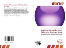 Andrew Mountbatten-Windsor, Duke of York的封面