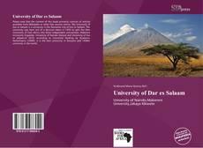 Buchcover von University of Dar es Salaam