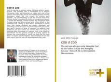 GOD IS GOD kitap kapağı