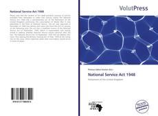 Couverture de National Service Act 1948