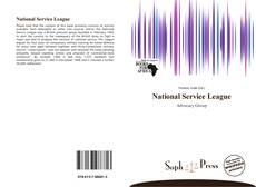 Portada del libro de National Service League