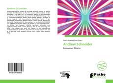 Buchcover von Andrew Schneider
