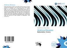 Bookcover of Andrew Gleason
