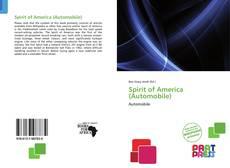 Copertina di Spirit of America (Automobile)
