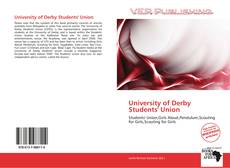 University of Derby Students' Union的封面