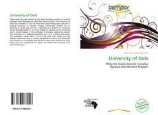 Bookcover of University of Dole