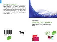 Обложка Penelope Rich, Lady Rich