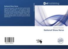 Bookcover of National Show Horse
