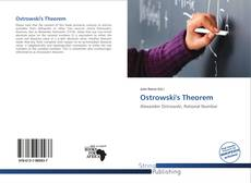 Bookcover of Ostrowski's Theorem