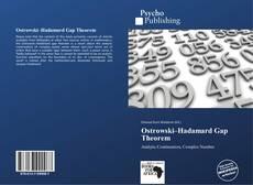 Bookcover of Ostrowski–Hadamard Gap Theorem
