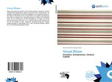 Bookcover of Vinod Dham
