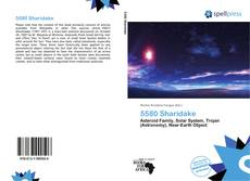 Couverture de 5580 Sharidake