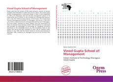 Buchcover von Vinod Gupta School of Management