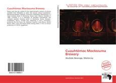 Portada del libro de Cuauhtémoc Moctezuma Brewery