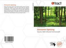 Buchcover von Ostrzanin Uprising